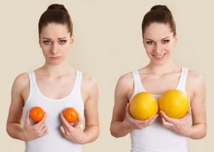 Лайфхак как увеличить грудь