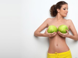 Средний размер груди